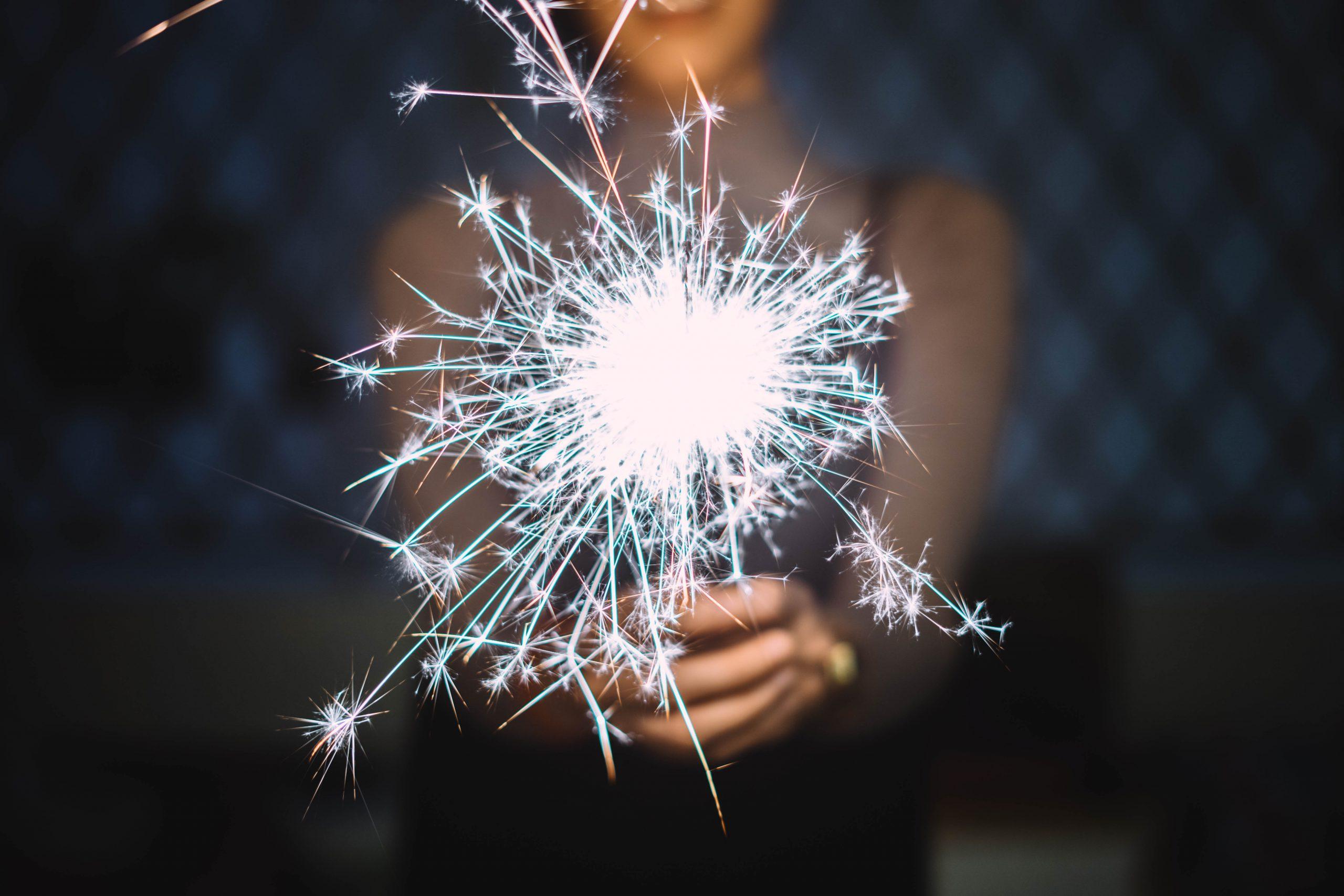 new year airtopia sparkler